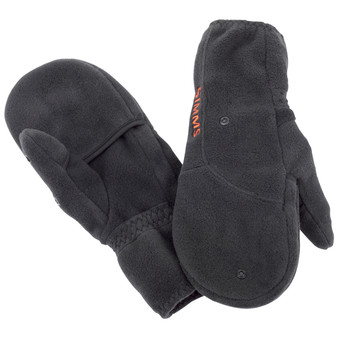 Simms Headwaters Foldover Mitt Black Image 1