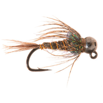 Solitude Fly Tungsten Bead Head Jig Soft Hackle Pheasant Tail Image 1