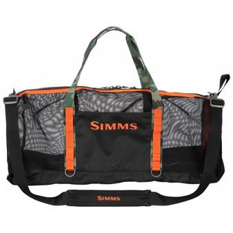 Simms Challenger Mesh Duffel Black Image 1