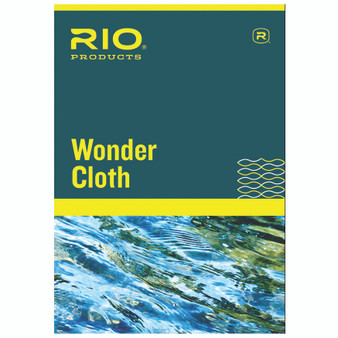 Rio Products Wonder Cloth Fly Line Cleaner Image 1
