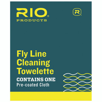 Rio Products Fly Line Cleaning Towlette Image 1