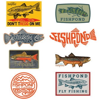 Fishpond Freshwater Sticker Bundle Image 1