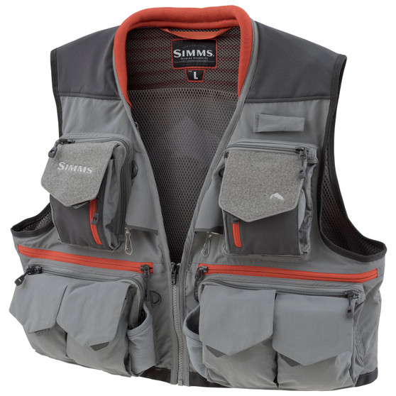 Simms Guide Vest Steel Image 1