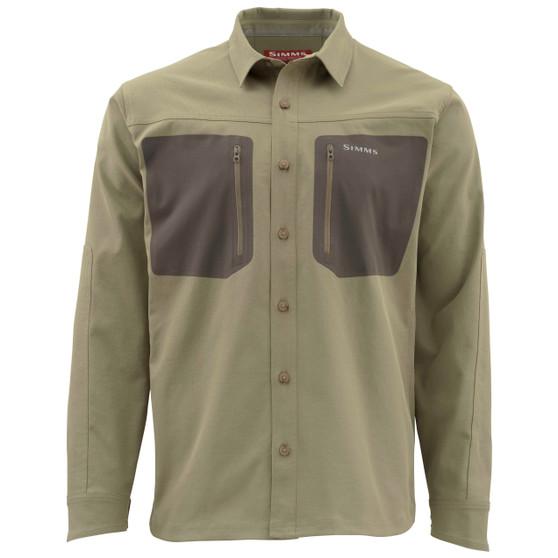 Simms Tongass Ls Shirt Tan Image 1