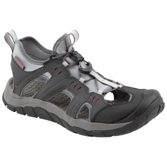 Simms Confluence Sandal Carbon Image 1