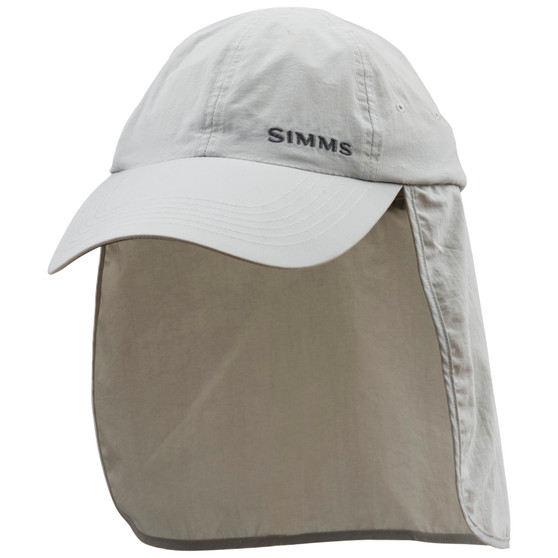 Simms Superlight Sunshield Cap Sterling Image 1
