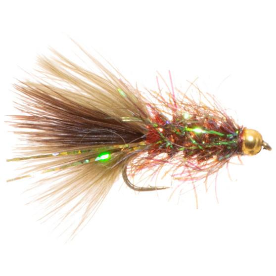 Umpqua Pops Bugger Copper Olive Image 1