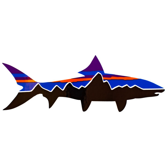 Patagonia Fitz Roy Bonefish Sticker Image 1