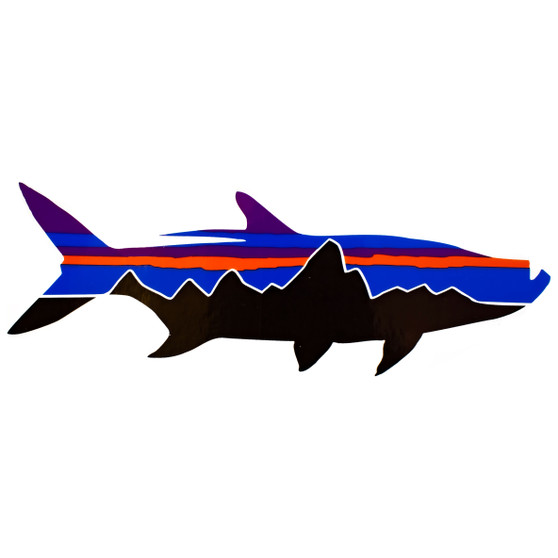 Patagonia Fitz Roy Tarpon Sticker Image 1