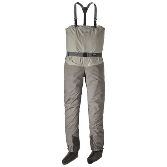 Patagonia Middle Fork Packable Wader Hex Grey Image 1