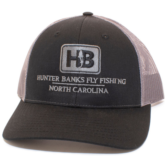 Hunter Banks Icon Low Pro Trucker Black Charcoal Image 1
