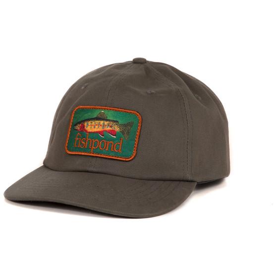 Fishpond Golden Trout Full Back Hat Moss Image 1