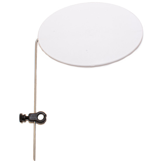 Peak Fishing Profile Plate White Silver Image 1