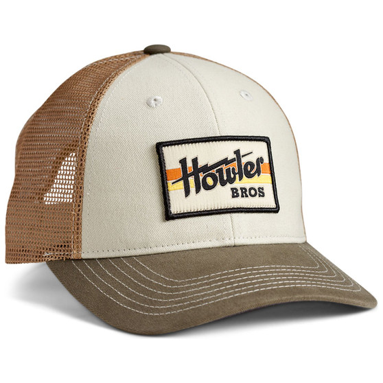 Howler Brothers Howler Electric Stripe Standard Cap Howler Electric Stripe Stone Gold Rifle Image 1