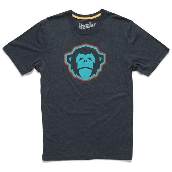 Howler Brothers El Mono Select SS T Shirt El Mono Charcoal Image 1