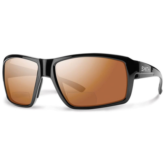 Smith Optics Colson Black Carbonic Polarized Copper Mirror Image 1