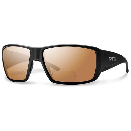 Smith Optics Guides Choice Bifocal Matte Black Polarized Copper Mirror Image 1