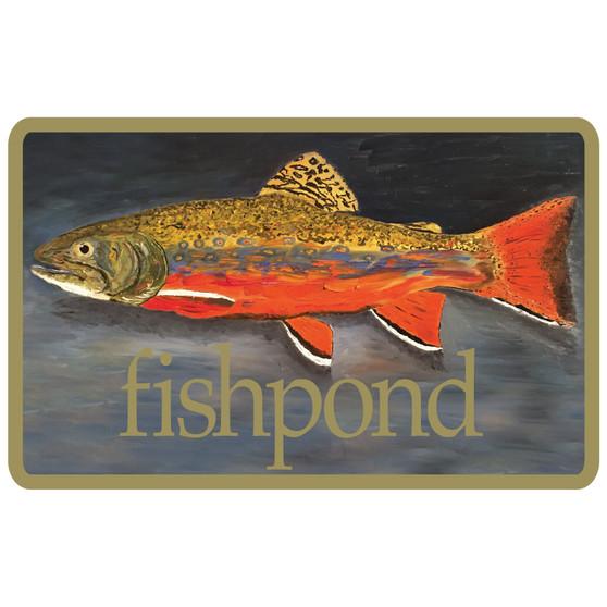 Fishpond Brookie Sticker Image 1