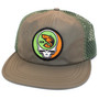 Crooked Creek Holler Stealie Quick Dry Trucker Olive Image 1