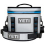 Yeti Coolers Hopper Flip 8 Fog Gray Tahoe Blue Image 1