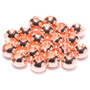 Hareline Slotted Tungsten Beads Copper Image 1