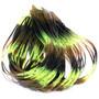 Hareline Fly Enhancer Legs Chartreuse Olive Black Image 1