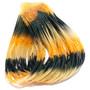 Hareline Fly Enhancer Legs Gold Amber Black Image 1