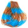 Hareline Fly Enhancer Legs Light Blue Pumpkin Image 1