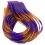 Hareline Fly Enhancer Legs Purple Pumpkin Image 1