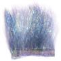 Hareline Ice Dub Minnow Back Shimmer Fringe Pearl Dark Uv Blue Back Image 1