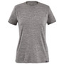 Patagonia Womens Cap Cool Daily SS Shirt Feather Grey Image 1
