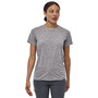 Patagonia Womens Cap Cool Daily SS Shirt Feather Grey Image 3