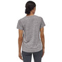Patagonia Womens Cap Cool Daily SS Shirt Feather Grey Image 4