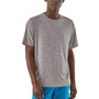 Patagonia Cap Cool Daily SS Shirt Feather Grey Image 3