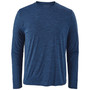 Patagonia Cap Cool Daily LS Shirt Viking Blue Navy Blue X Dye Image 1