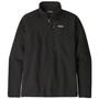 Patagonia Better Sweater 1 4 Zip Jacket Black Image 1