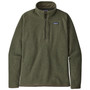 Patagonia Better Sweater 1 4 Zip Jacket Industrial Green Image 1