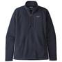Patagonia Better Sweater 1 4 Zip Jacket New Navy Image 1