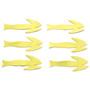 Flymen Fishing Fish Skull Frantic Tails Chartreuse Image 1