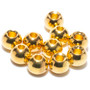 Flymen Nymph Head Flycolor Brass Beads Gold Image 1
