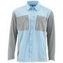 Simms Tricomp Cool LS Shirt Mist Image 1