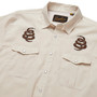 Howler Brothers Gaucho Snapshirt LS Shirt Riverbed Oxford Cottonmouth Image 4
