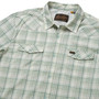 Howler Brothers H Bar B Tech LS Shirt Bolan Plaid Juniper Green Image 4