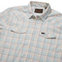 Howler Brothers H Bar B Tech LS Shirt Bolan Plaid Lazy Blue Image 4
