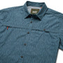 Howler Brothers Tidepool Tech SS Shirt Deluge Camo Pacific Blue Image 2