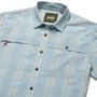 Howler Brothers Tidepool Tech SS Shirt Juno Plaid Sonic Blue Image 2