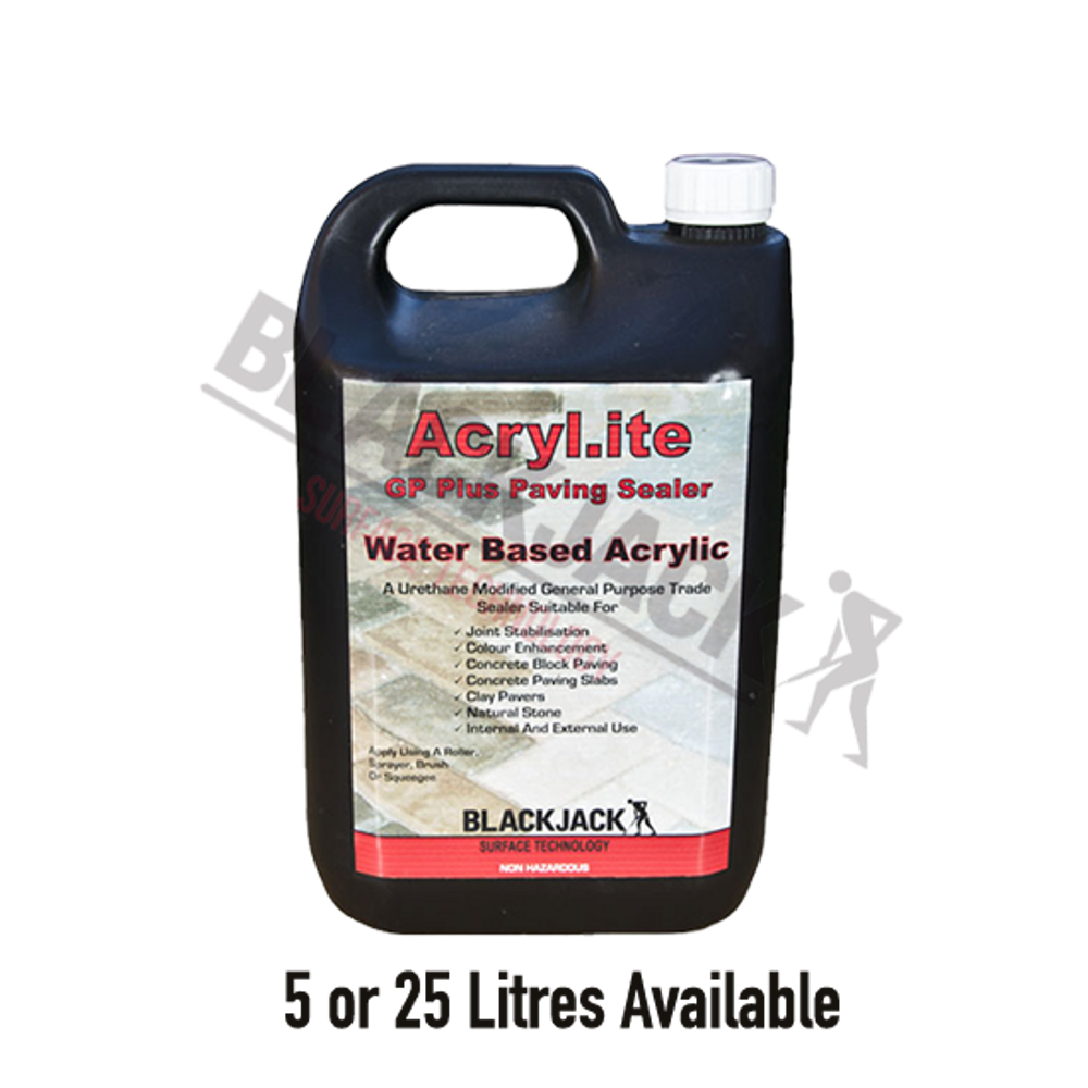 Acryl-ite® GP Plus Paving Sealer, Water Based Sealer For Paving, Block Paving, Concrete, Stone