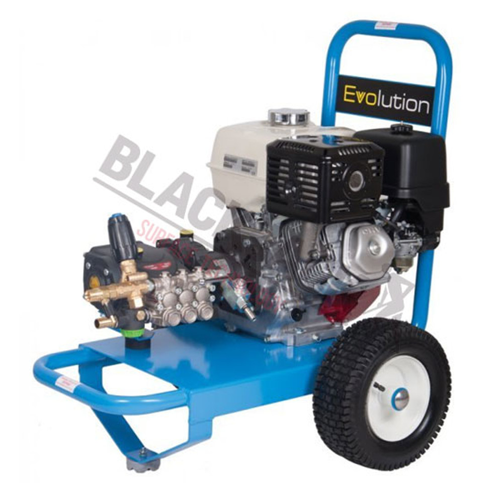 Evolution 2 Contractors Paving Cleaning Pressure Washer, Petrol Powered