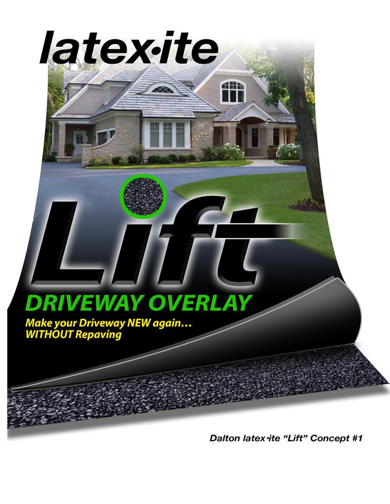 Latex·ite® Lift Driveway Overlay