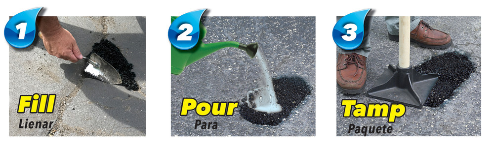 Latex·ite® Quick Patch® H2O 18 KG PERMANENT POT HOLE REPAIR